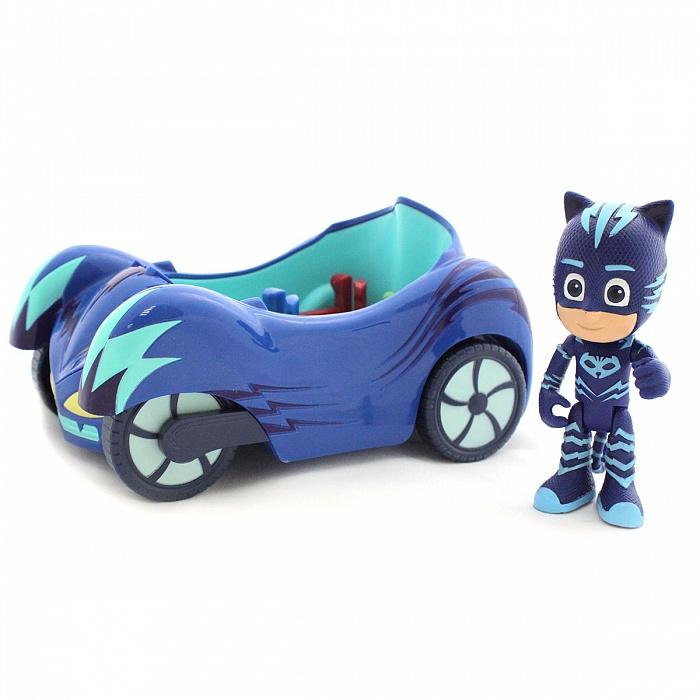 Купить Игровой набор PJ masks – фигурка и машина Кэтмобиль, JUST PLAY