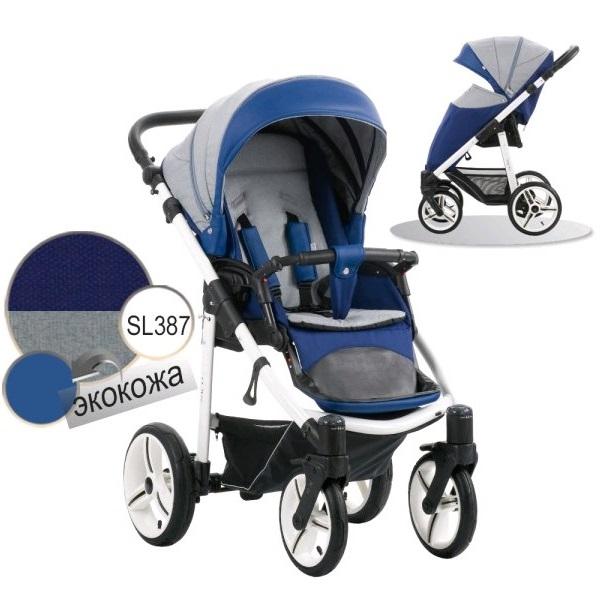 Детская прогулочная коляска – Nico, шасси белая/BIA SL387Детские прогулочные коляски<br>Детская прогулочная коляска – Nico, шасси белая/BIA SL387<br>