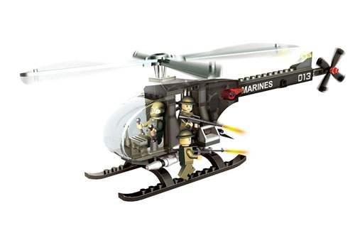 Конструктор с аксессуарами - Военный вертолётКонструкторы BANBAO<br>Конструктор с аксессуарами - Военный вертолёт<br>