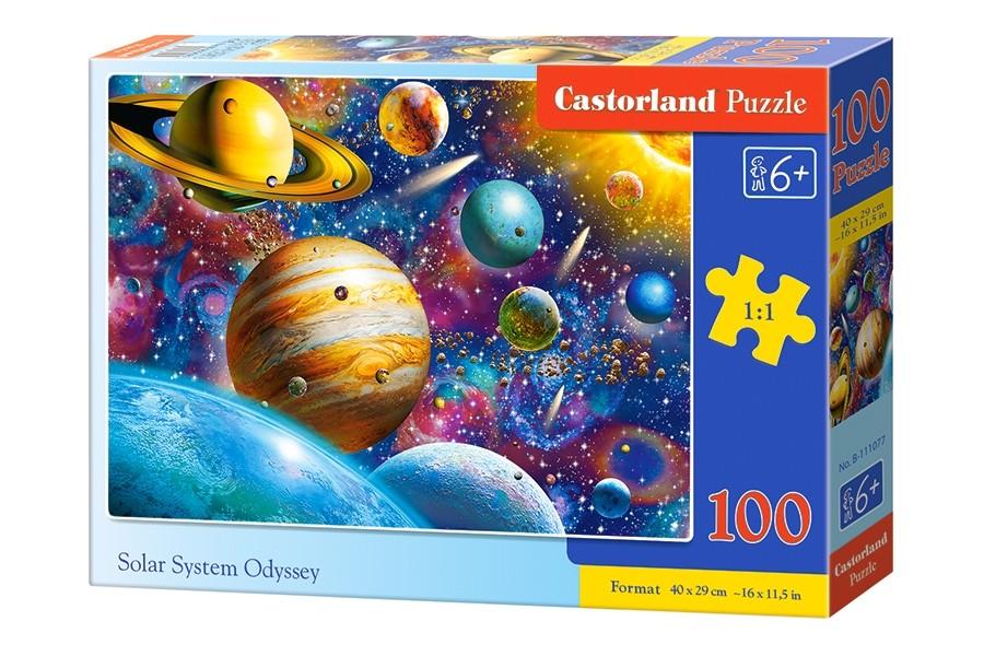 Купить Пазл Солнечная система, 100 элементов, Castorland