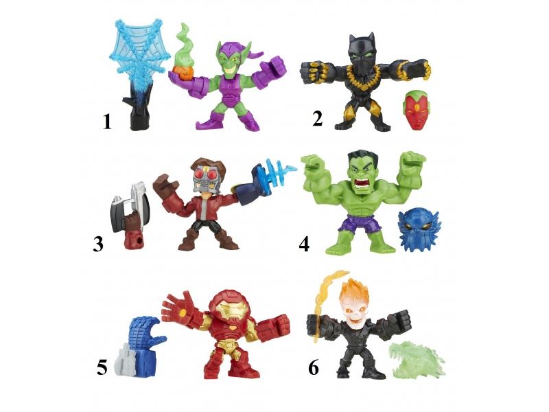 Разборные Микро-фигурки Марвел из серии Hero MashersAvengers (Мстители)<br>Разборные Микро-фигурки Марвел из серии Hero Mashers<br>