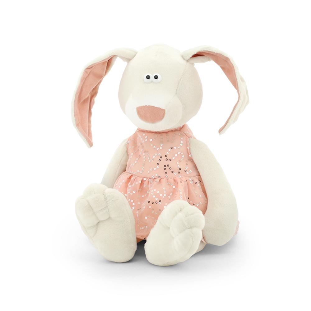 Мягкая игрушка - Зайка Маша, 30 см.Зайцы и кролики<br>Мягкая игрушка - Зайка Маша, 30 см.<br>