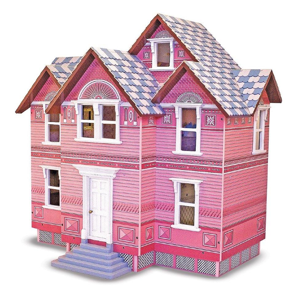 Викторианский домик для кукол MelissaКукольные домики<br>Викторианский домик для кукол Melissa<br>