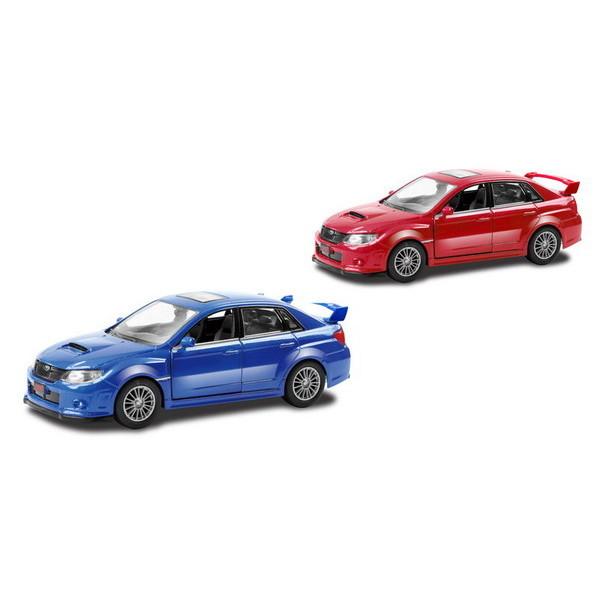 Металлическая инерционная машина RMZ City - Subaru WRX STI, 1:32, 2 цветаSubaru<br>Металлическая инерционная машина RMZ City - Subaru WRX STI, 1:32, 2 цвета<br>