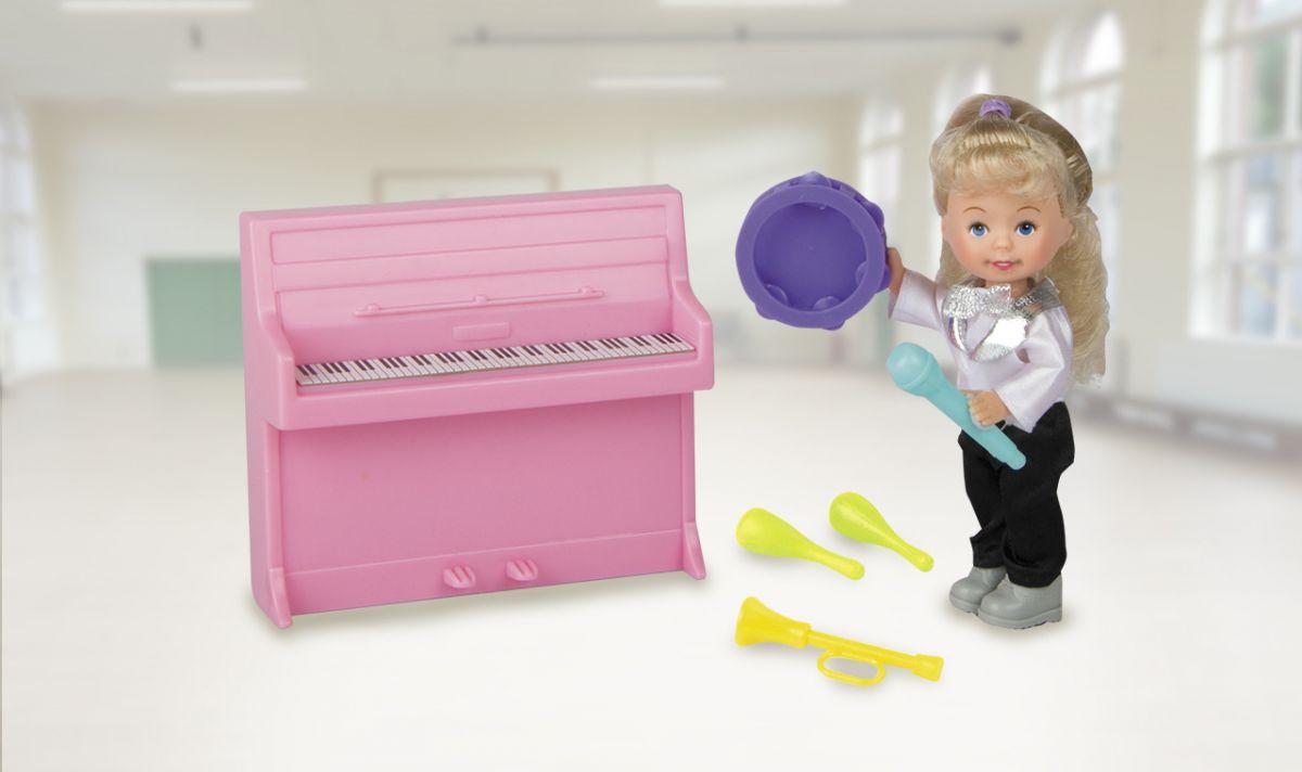 Купить Игровой набор из серии Paula. Я – профессионал – Кукла учитель музыки