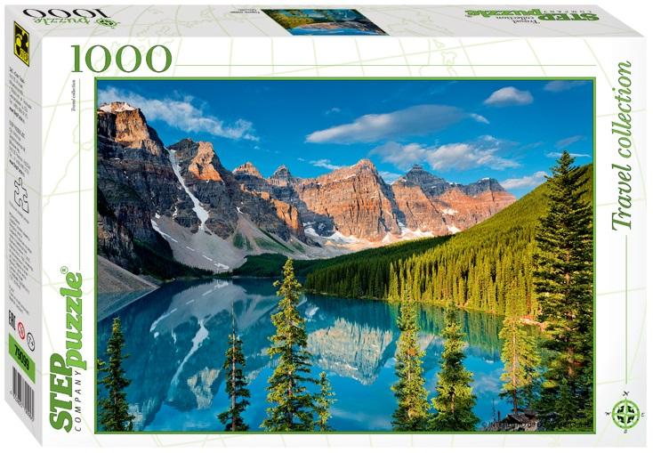 Купить со скидкой Пазл Озеро в горах, 1000 элементов