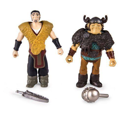 Игровой набор - Две фигурки викингов, с аксессуарами, DragonsКак приручить Дракона<br>Игровой набор - Две фигурки викингов, с аксессуарами, Dragons<br>