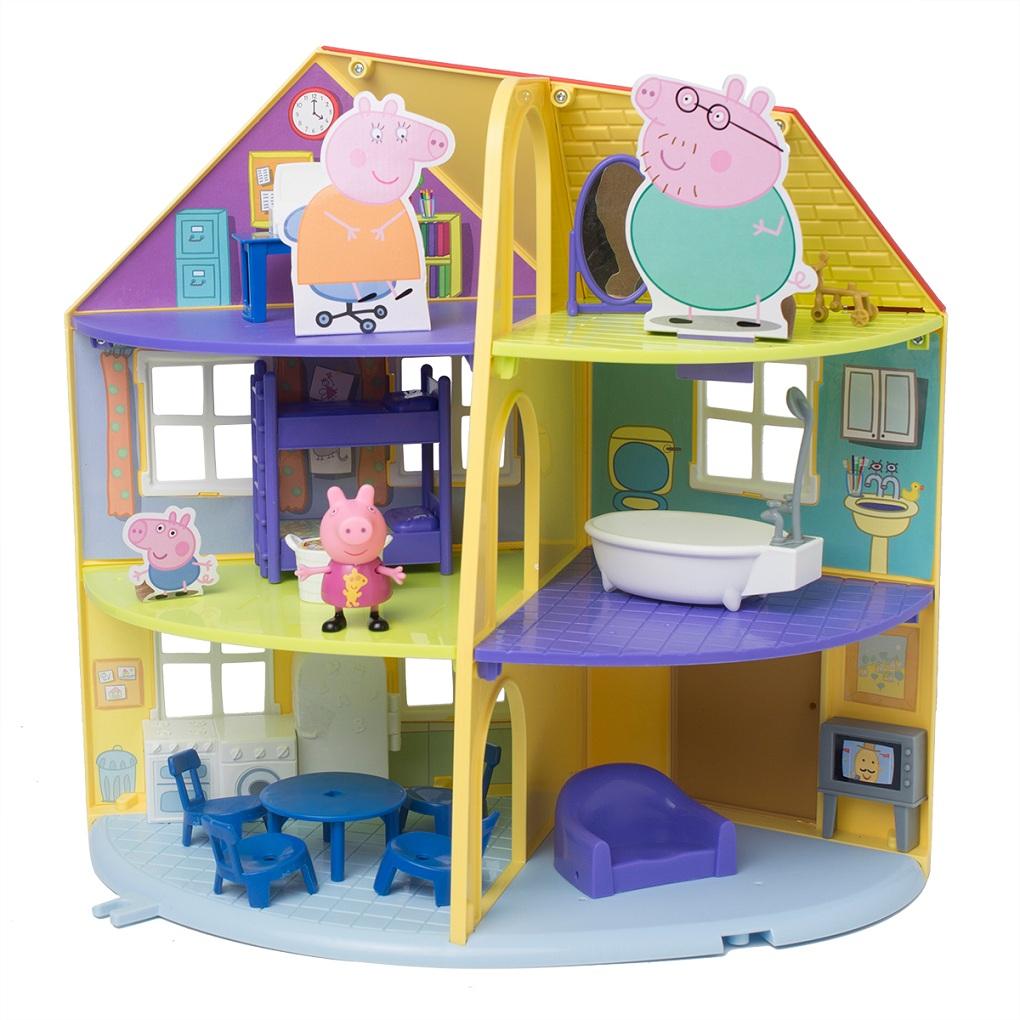 Игровой набор ™Peppa Pig - Трехэтажный дом ПеппыКукольные домики<br>Игровой набор ™Peppa Pig - Трехэтажный дом Пеппы<br>