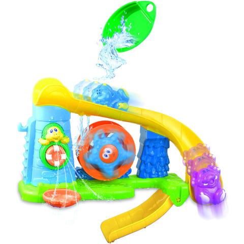 Набор для купания – Аквапарк с горкой и игрушкамиИгрушки для ванной<br>Набор для купания – Аквапарк с горкой и игрушками<br>