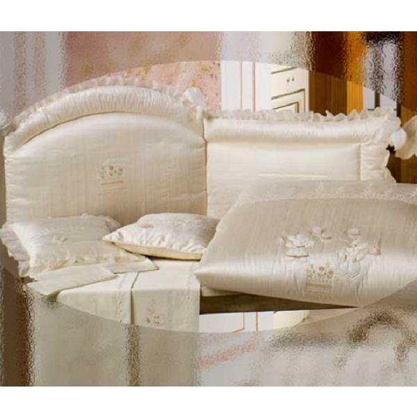 Одеяло для люльки - Шелковые эмоции из коллекции 4 времени года из ткани пике с вышивкой 75 х 90Матрасы, одеяла, подушки<br>Одеяло для люльки - Шелковые эмоции из коллекции 4 времени года из ткани пике с вышивкой 75 х 90<br>