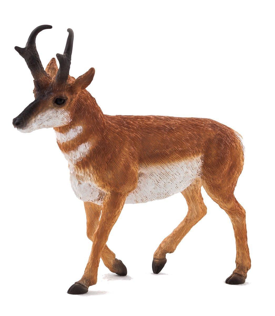 Фигурка - Антилопа вилорогая, размер 11 х 3 х 10,5 см.Дикая природа (Wildlife)<br>Фигурка - Антилопа вилорогая, размер 11 х 3 х 10,5 см.<br>