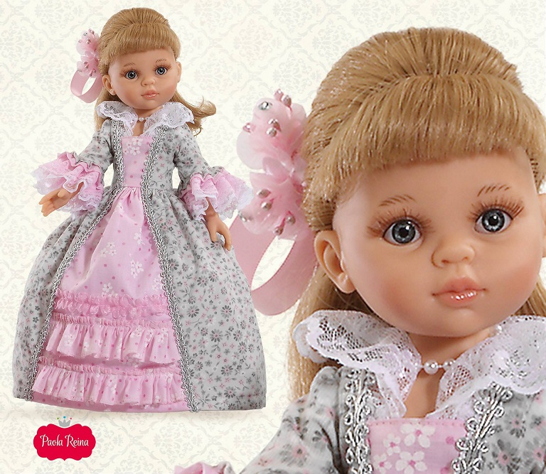 Кукла Карла в бальном платьеИспанские куклы Paola Reina (Паола Рейна)<br>Кукла Карла в бальном платье<br>