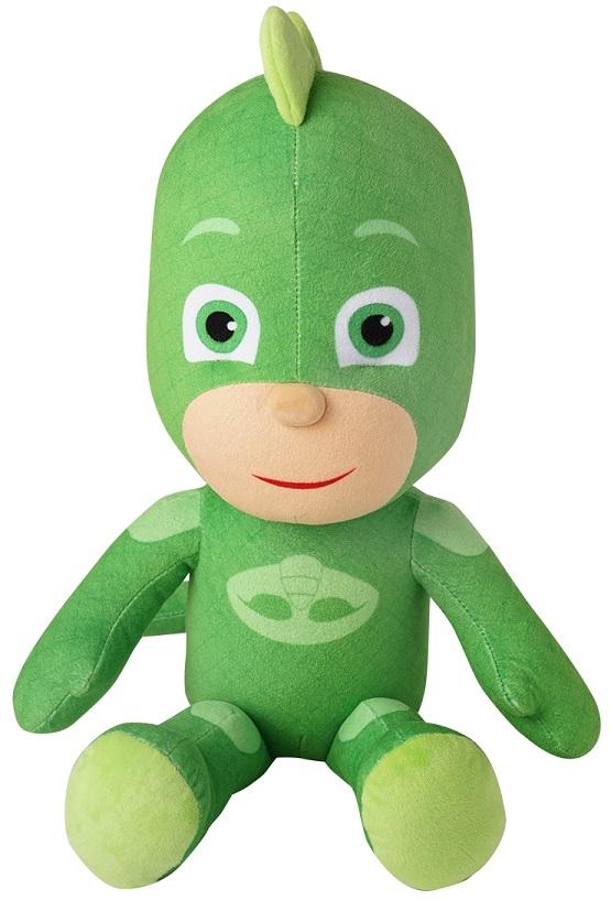 Купить Большая мягкая игрушка Герои в масках PJ Masks – Гекко, 45 см., Росмэн