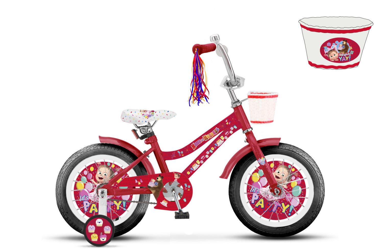 """Детский велосипед – Маша и Медведь, колеса 16"""""""