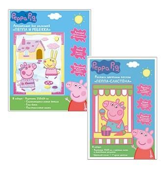 Купить Набор для творчества из серии Свинка Пеппа, 2 поделки, Росмэн