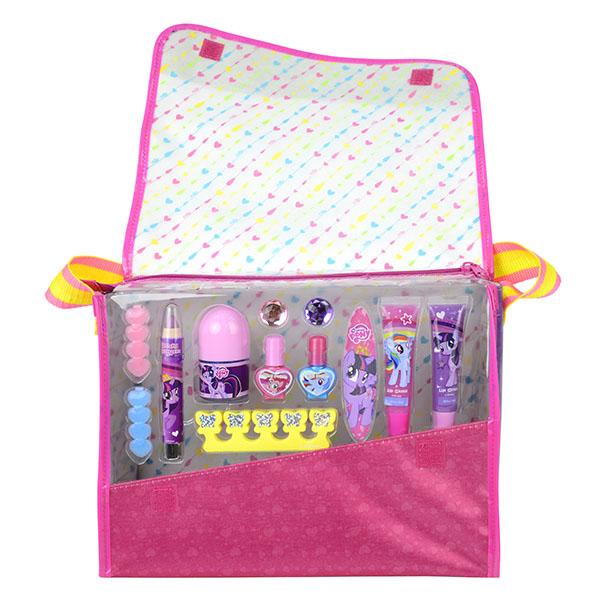 Игровой набор детской декоративной косметики в сумке – My Little PonyЮная модница, салон красоты<br>Игровой набор детской декоративной косметики в сумке – My Little Pony<br>