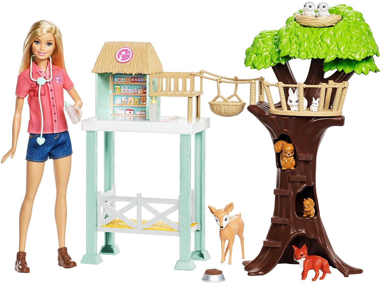 Игровой набор Barbie® - Спасатель животныхКуклы Barbie (Барби)<br>Игровой набор Barbie® - Спасатель животных<br>