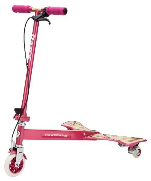 Трёхколёсный тридер - самокат RAZOR Powerwing Sweet Pea, розовый, 100202Трехколесные самокаты<br>Трёхколёсный тридер - самокат RAZOR Powerwing Sweet Pea, розовый, 100202<br>