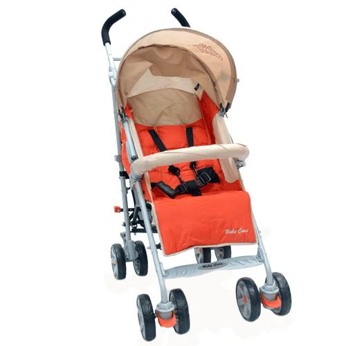 Купить Коляска трость Polo 107, Light Terakote, Baby Care