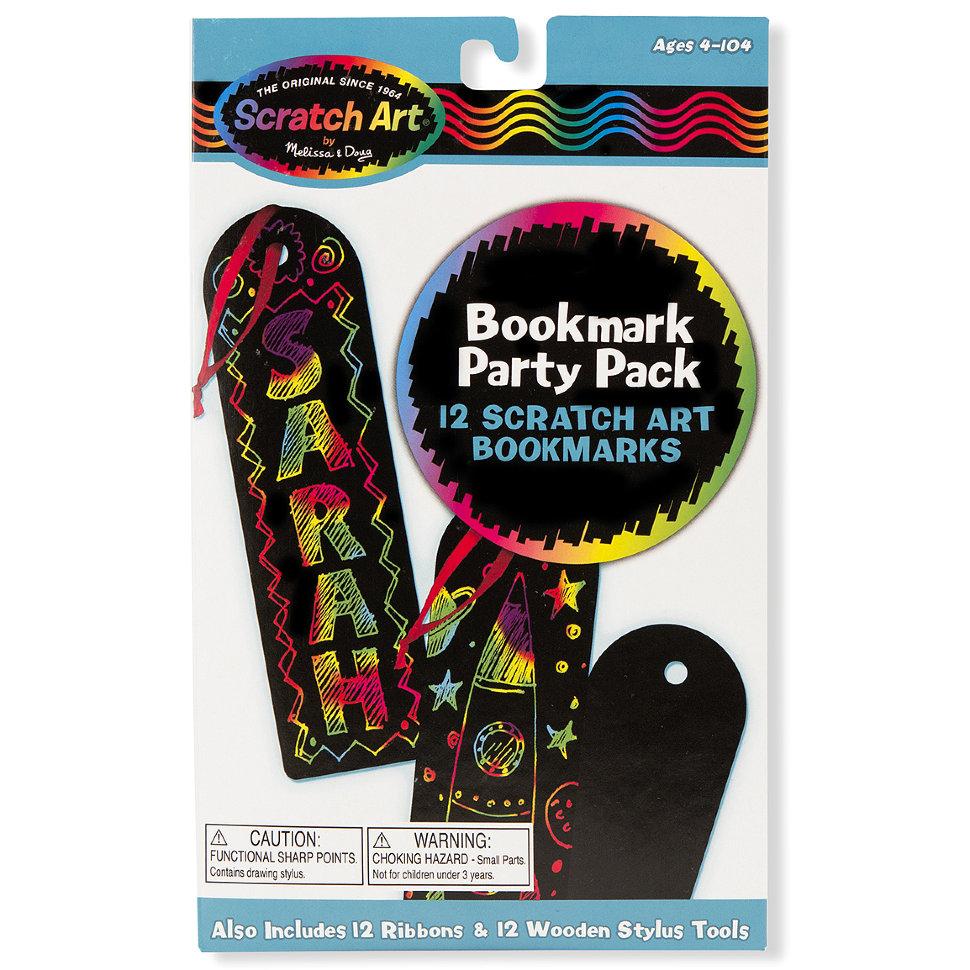 Закладка для книг «Scratch art»с различными эффектами<br>Закладка для книг «Scratch art»<br>