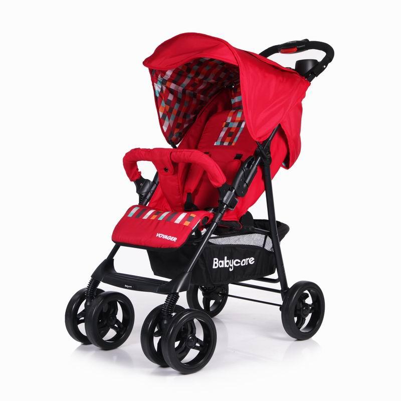 Купить Прогулочная коляска Baby Care Voyager - Красный 17