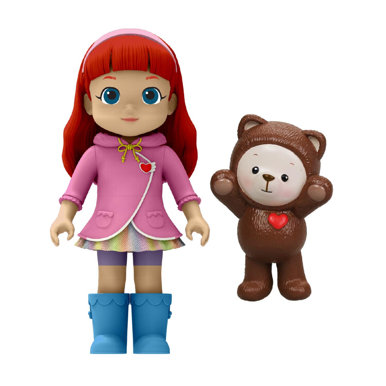 Rainbow Ruby. Две фигурки - Руби и Чоко.