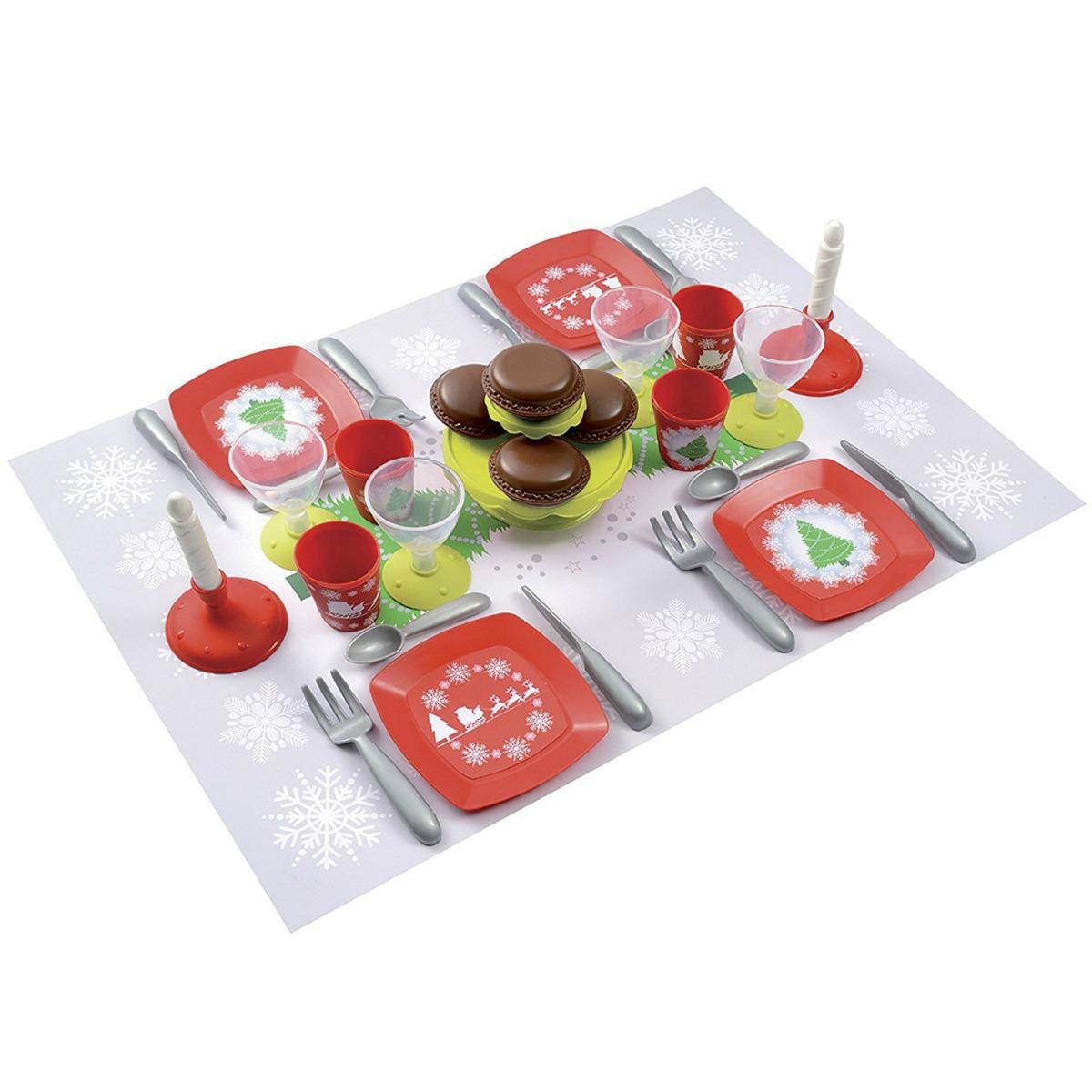 Набор посудки из серии С Новым Годом, 24 предметаАксессуары и техника для детской кухни<br>Набор посудки из серии С Новым Годом, 24 предмета<br>