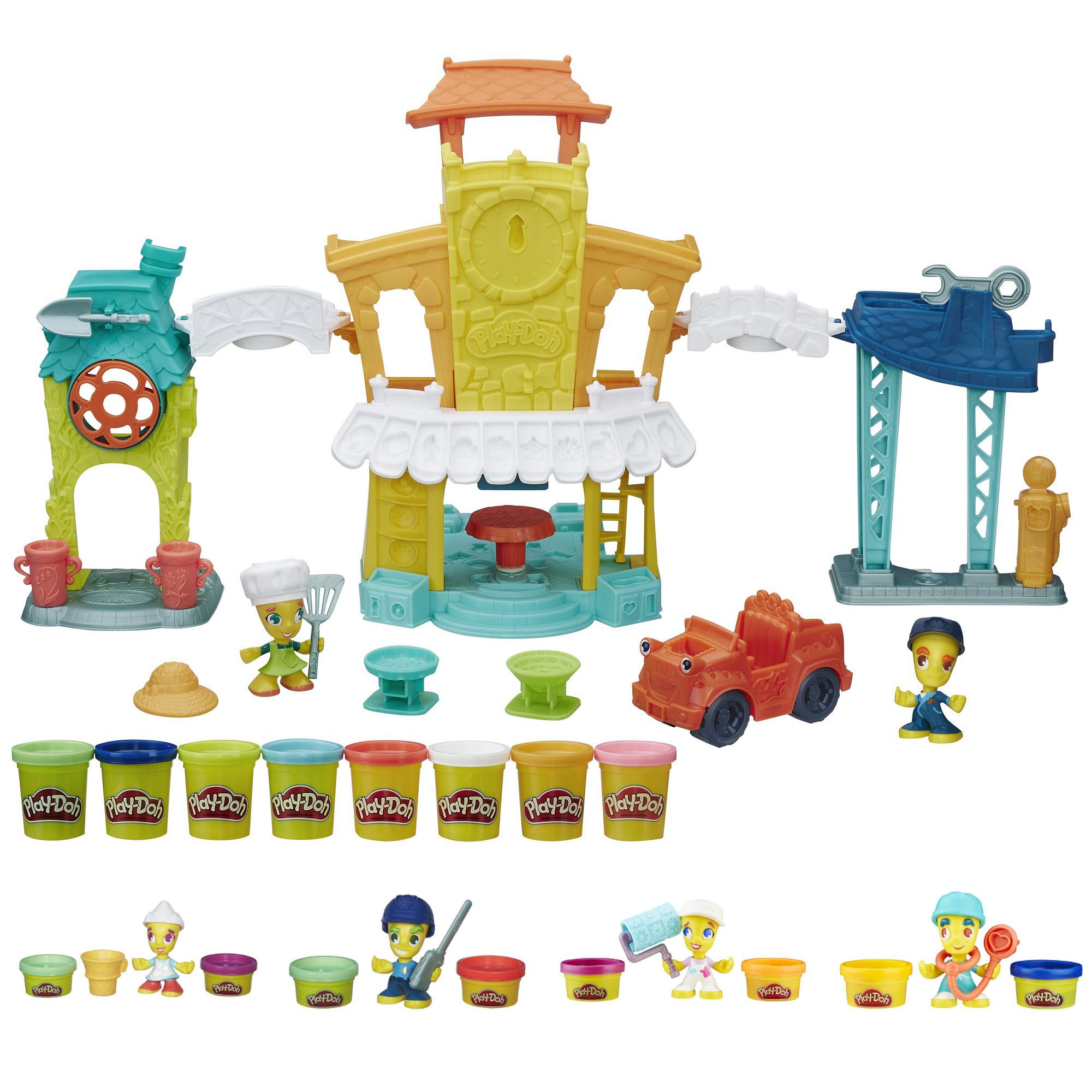 Набор Play-Doh  Город главная улица + фигурки - Пластилин Play-Doh, артикул: 167100