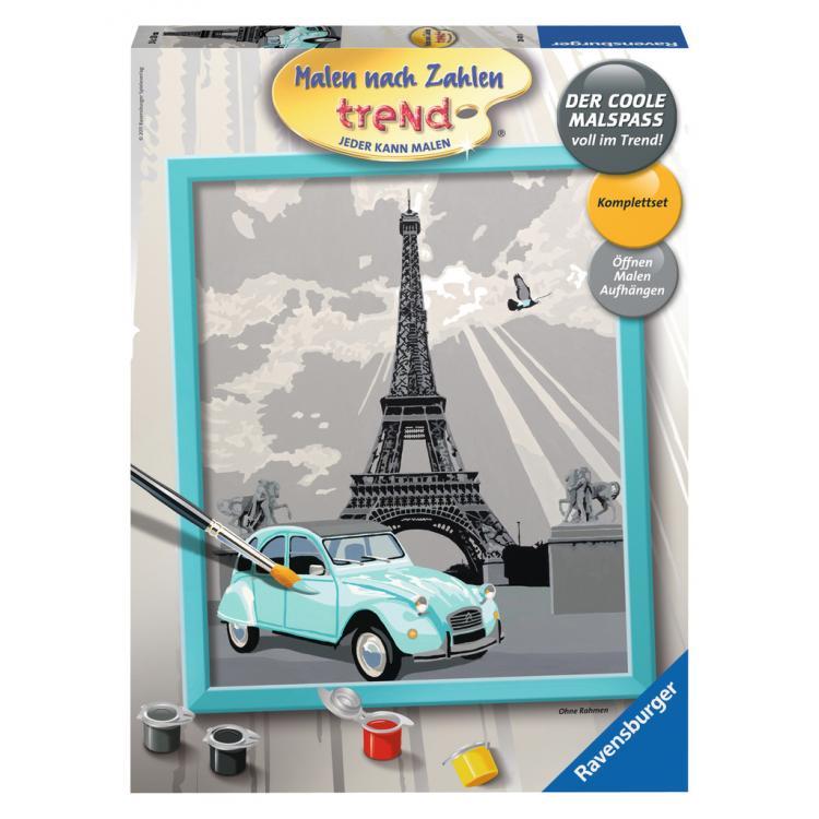 Раскрашивание по номерам «Париж»Раскраски по номерам Schipper<br>Раскрашивание по номерам «Париж»<br>