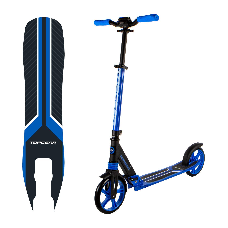 Купить Двухколесный складной самокат Topgear 200, черно-синий