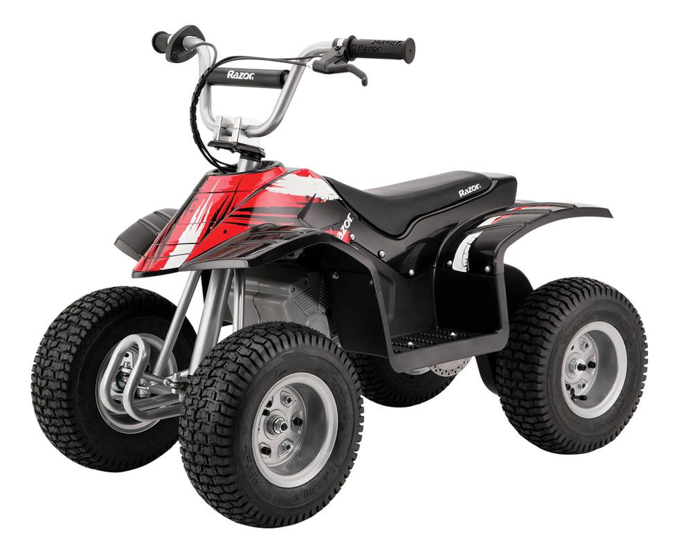Электроквадроцикл Dirt Quad, чёрный - Детские квадроциклы на аккумуляторе, артикул: 141046