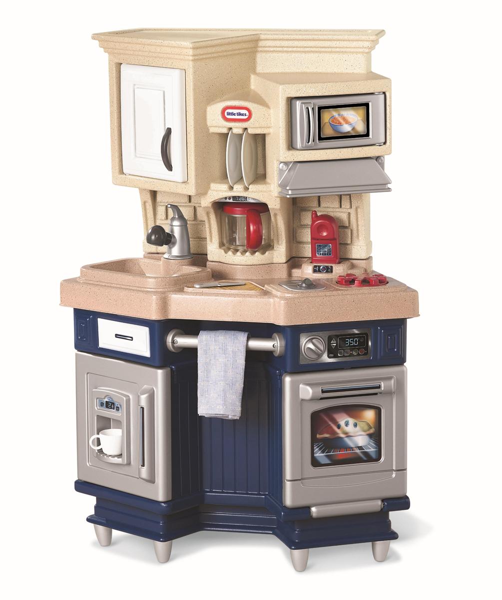 Игровая синяя кухня со звуковыми эффектамиДетские игровые кухни<br>Игровая синяя кухня со звуковыми эффектами<br>