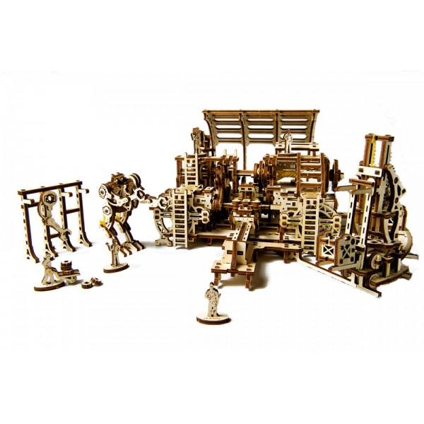3D-пазл - Фабрика роботовПазлы объёмные 3D<br>3D-пазл - Фабрика роботов<br>