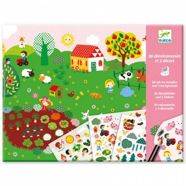 картинка Набор для творчества - Море, горы, ферма от магазина Bebikam.ru