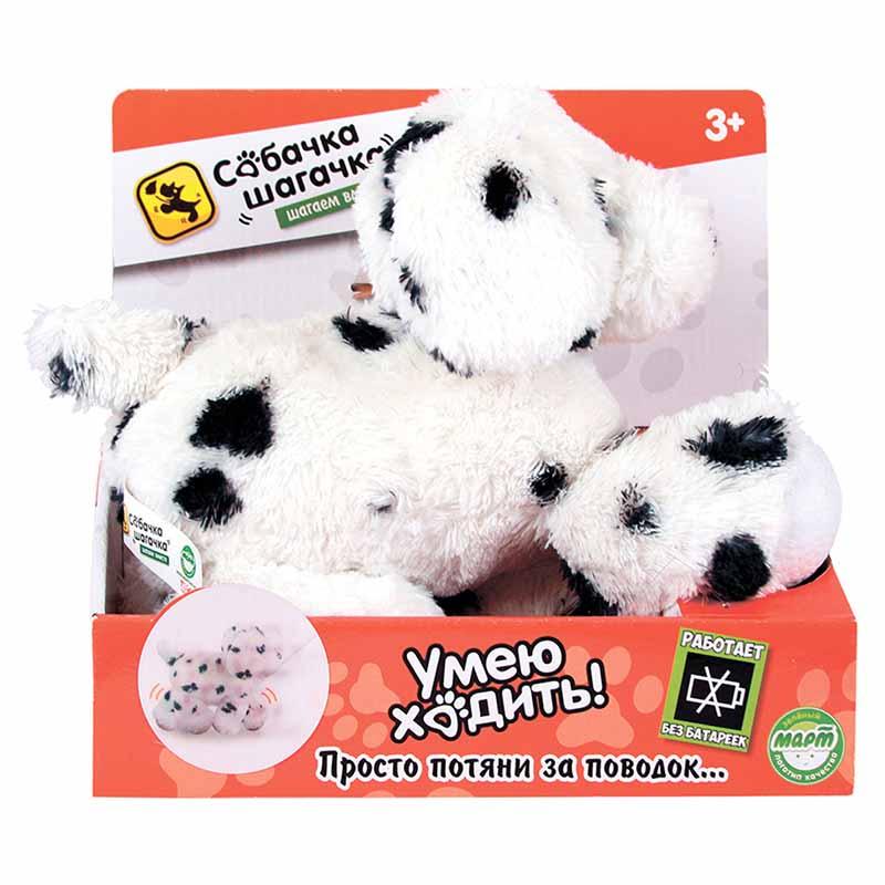 Мягкая игрушка Собачка-шагачка - Далматин, 25 смИнтерактивные животные<br>Мягкая игрушка Собачка-шагачка - Далматин, 25 см<br>