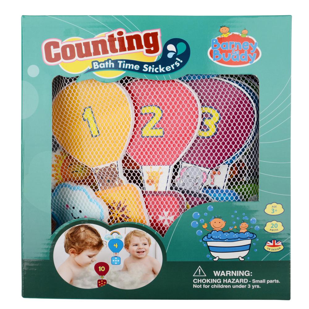 Стикеры для ванны - Учимся считатьСтикеры для ванны<br>Стикеры для ванны - Учимся считать<br>