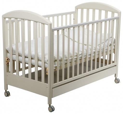Детская кроватка Санта, слоновая костьДетские кровати и мягкая мебель<br>Детская кроватка Санта, слоновая кость<br>