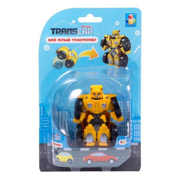 Игрушка из серии Мой первый трансформер, собирается в автомобиль, 6 см.