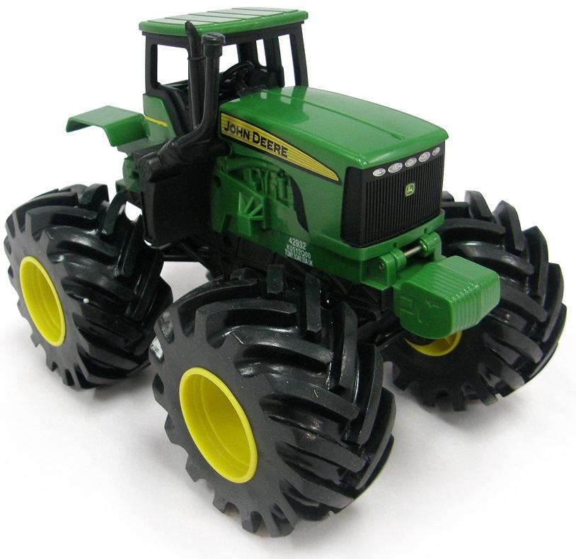 Купить Трактор Monster Treads с большими колесами, вибрацией и звуком, Tomy