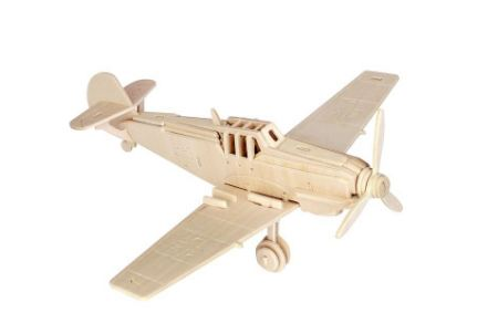 Купить Модель деревянная сборная - Истребитель Мессершмитт, Wooden Toys