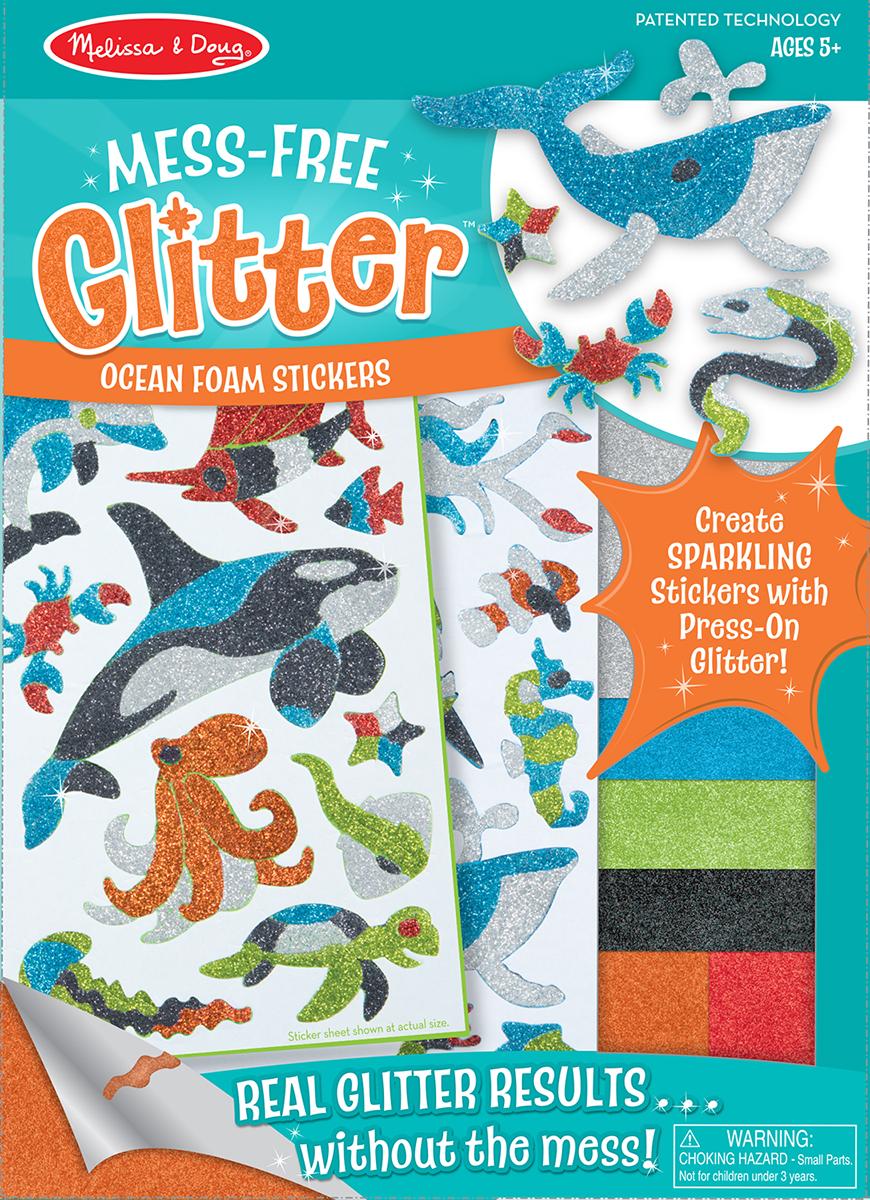 Купить Набор стикеров - Животные океана из серии Творчество, Melissa&Doug