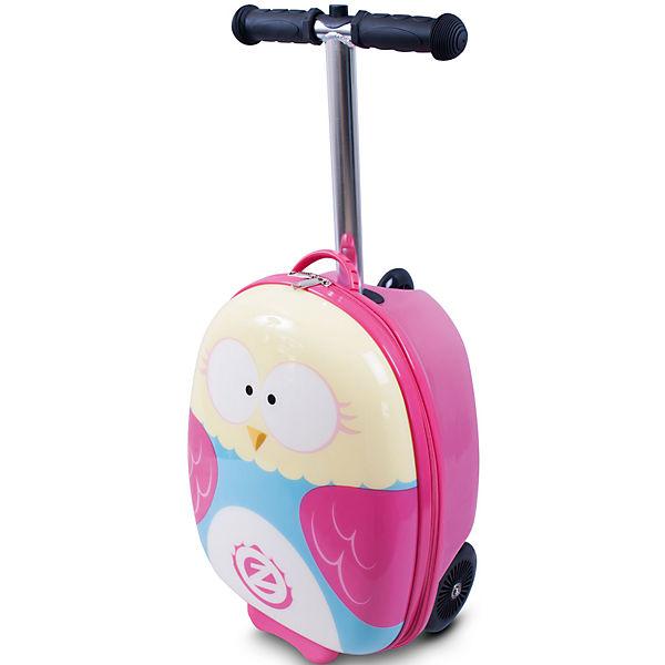 Самокат-чемодан Сова