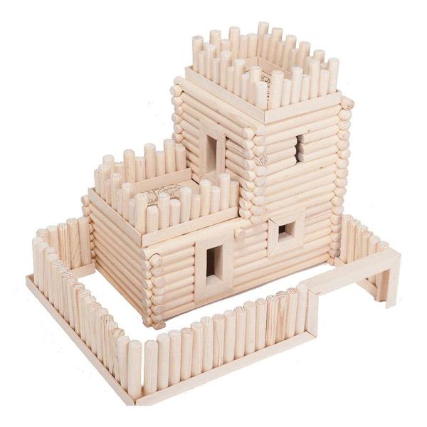 Деревянный конструктор – Крепость - Деревянный конструктор, артикул: 157920