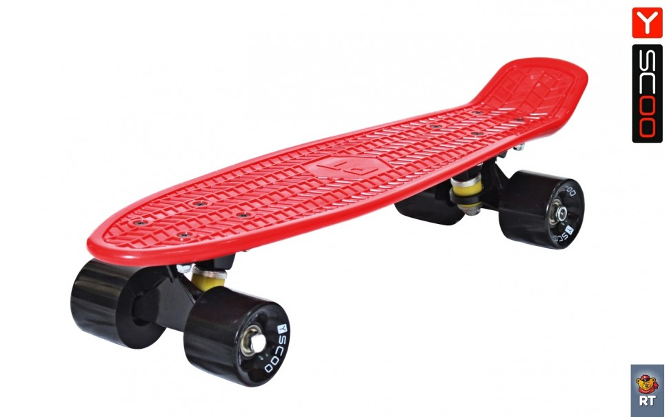 Скейтборд Penny board RT 22 Classic red