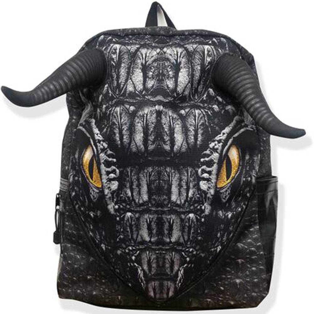 Рюкзак  Black Dragon, цвет черный - Школьные рюкзаки, артикул: 169330