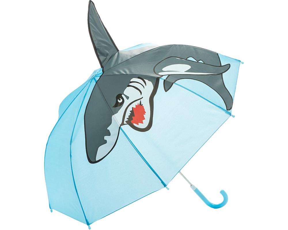 Купить Зонт детский Акула, 46 см, Mary Poppins