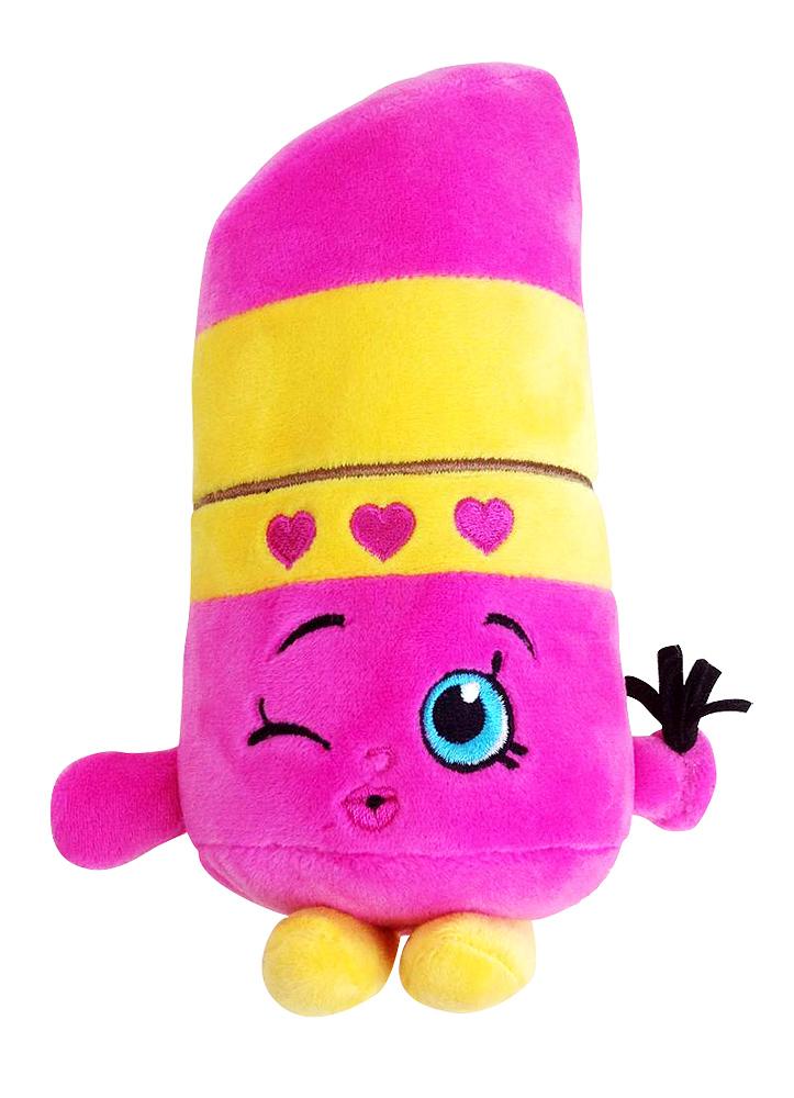Мягкая игрушка – Помадка Липпи из серии Шопкинс, 20 см.Shopkins (Шопкинс)<br>Мягкая игрушка – Помадка Липпи из серии Шопкинс, 20 см.<br>