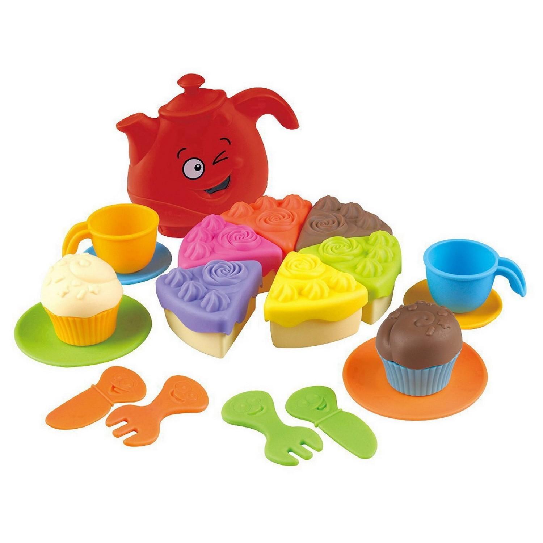 Игровой набор для чаепитияАксессуары и техника для детской кухни<br>Игровой набор для чаепития<br>