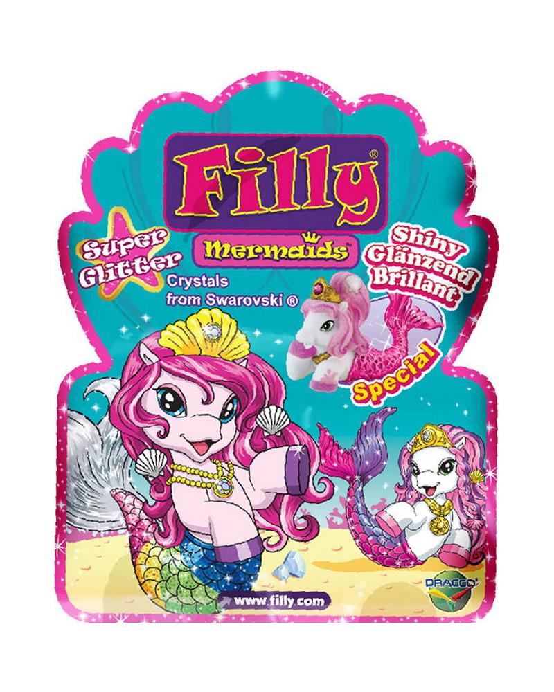 Лошадка коллекционная Filly - Русалочка - Супер блескЛошадки Филли Filly Princess<br>Лошадка коллекционная Filly - Русалочка - Супер блеск<br>
