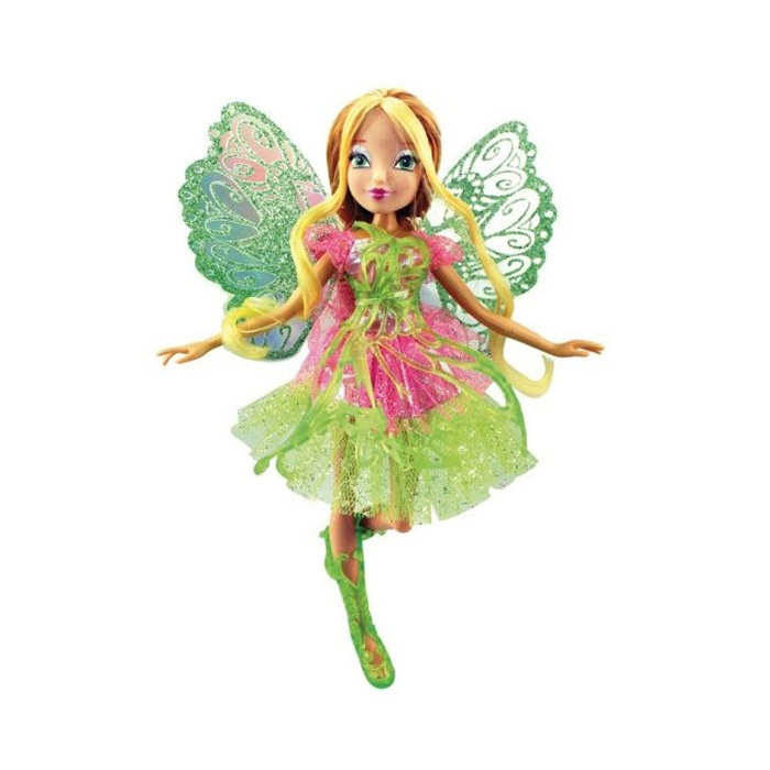 Кукла Winx Club Баттерфликс-2. Двойные крылья FloraКуклы Винкс (Winx)<br>Кукла Winx Club Баттерфликс-2. Двойные крылья Flora<br>